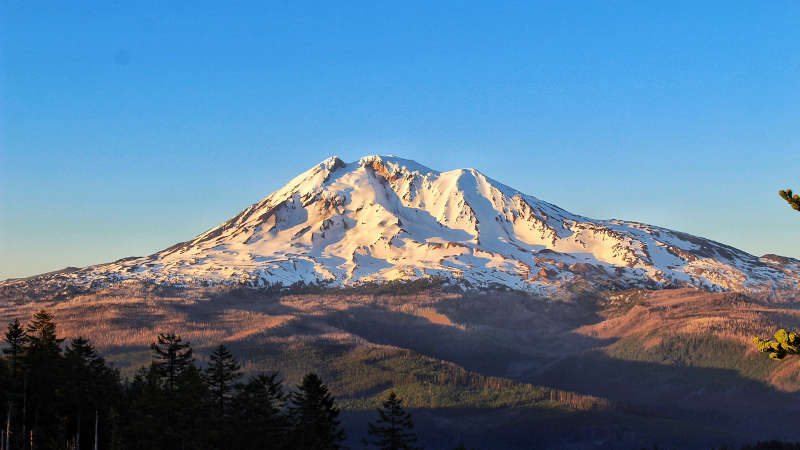 photo of mt adams