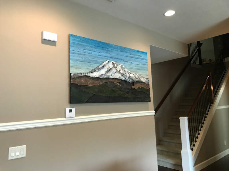 mt adams painting on wall